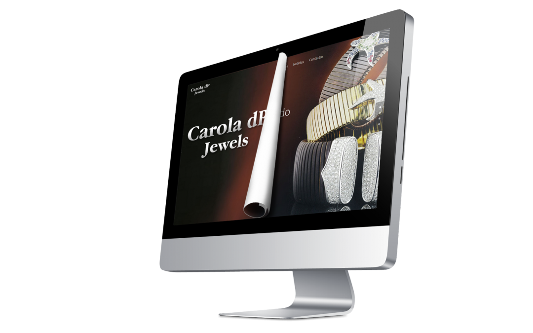 Novo Website CaroladPJewels.com